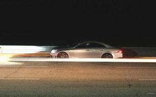 Бесплатные фото ночь, автомобиль, фары, свет, скорость, дорога
