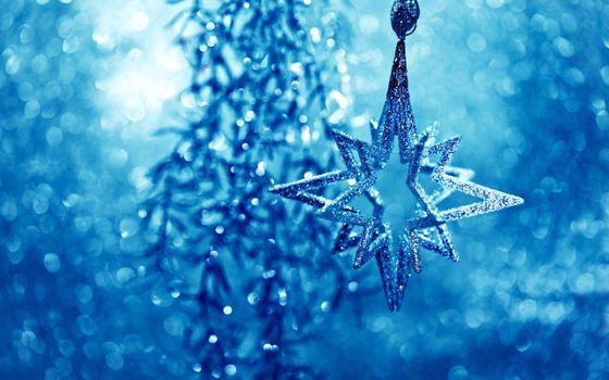 Заставки Новогодняя звезда, звёздчатый многоугольник, геометрическая звезда