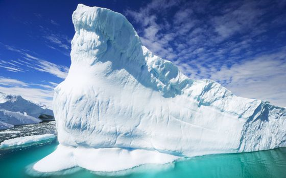 Фото бесплатно айсберг, лед, глыба