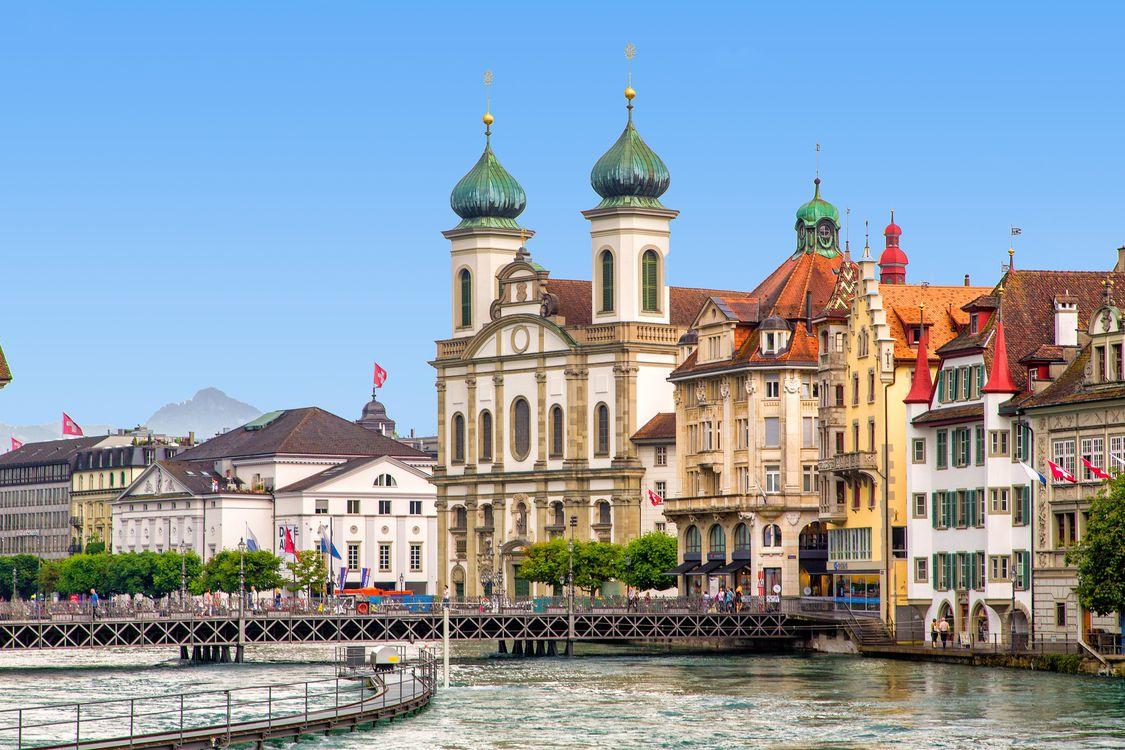 Фото бесплатно Lucerne, Швейцария, Люцерн, город - скачать
