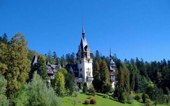 Фото бесплатно замок, имение, башни