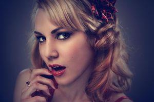 Фото бесплатно красивый макияж, макияж, лицо