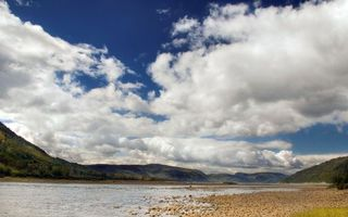 Photo free valley, river, stones