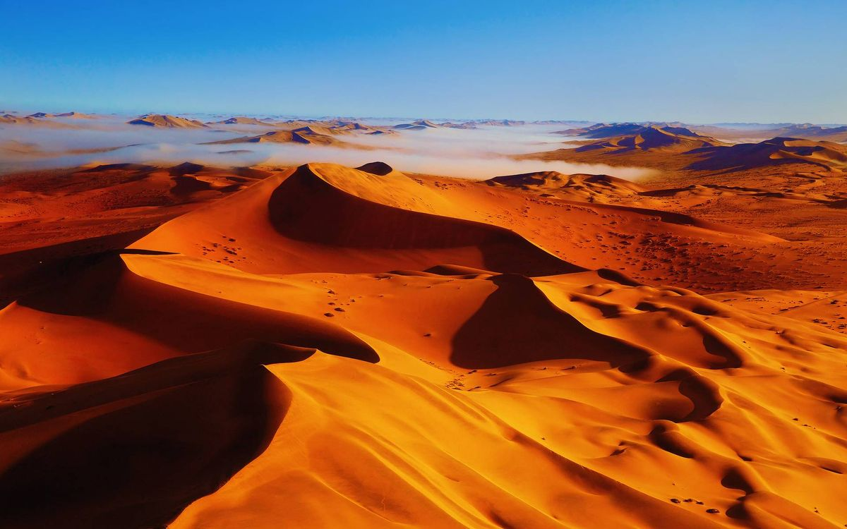 Фото бесплатно дюны, песок, пейзажи - скачать на рабочий стол