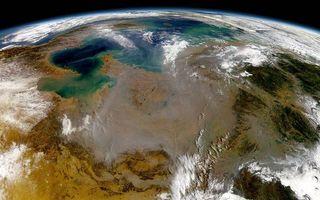 Бесплатные фото планета,земля,ландшафт,облака,орбита