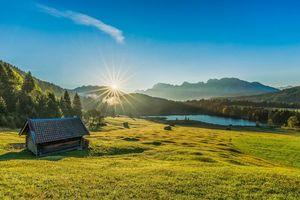 Бесплатные фото Гармиш,Wallgau,Bayern,Bavaria,Германия,Alpen,Альпы