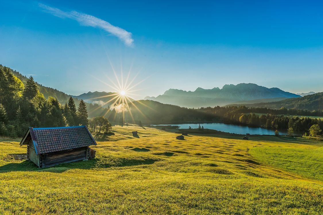 Фото бесплатно Гармиш, Wallgau, Bayern - на рабочий стол