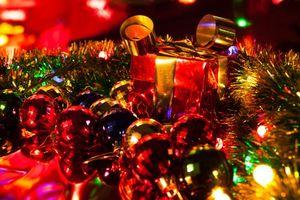 Фото бесплатно иллюминация, новогодние обои, фон