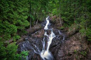 Фото бесплатно crystal falls, kinsmen park, sault ste marie