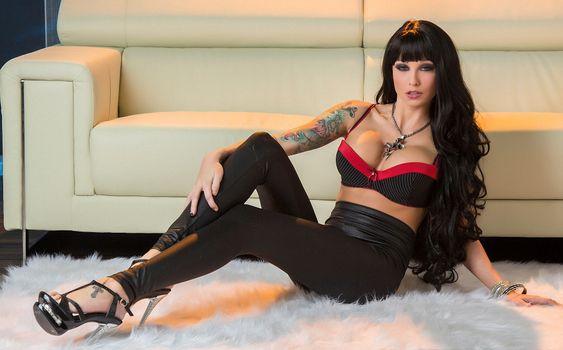 Фото бесплатно красотка, модель, Rikki Six