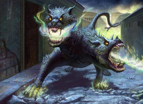 Заставки дракон, змей горыныч, фантастика