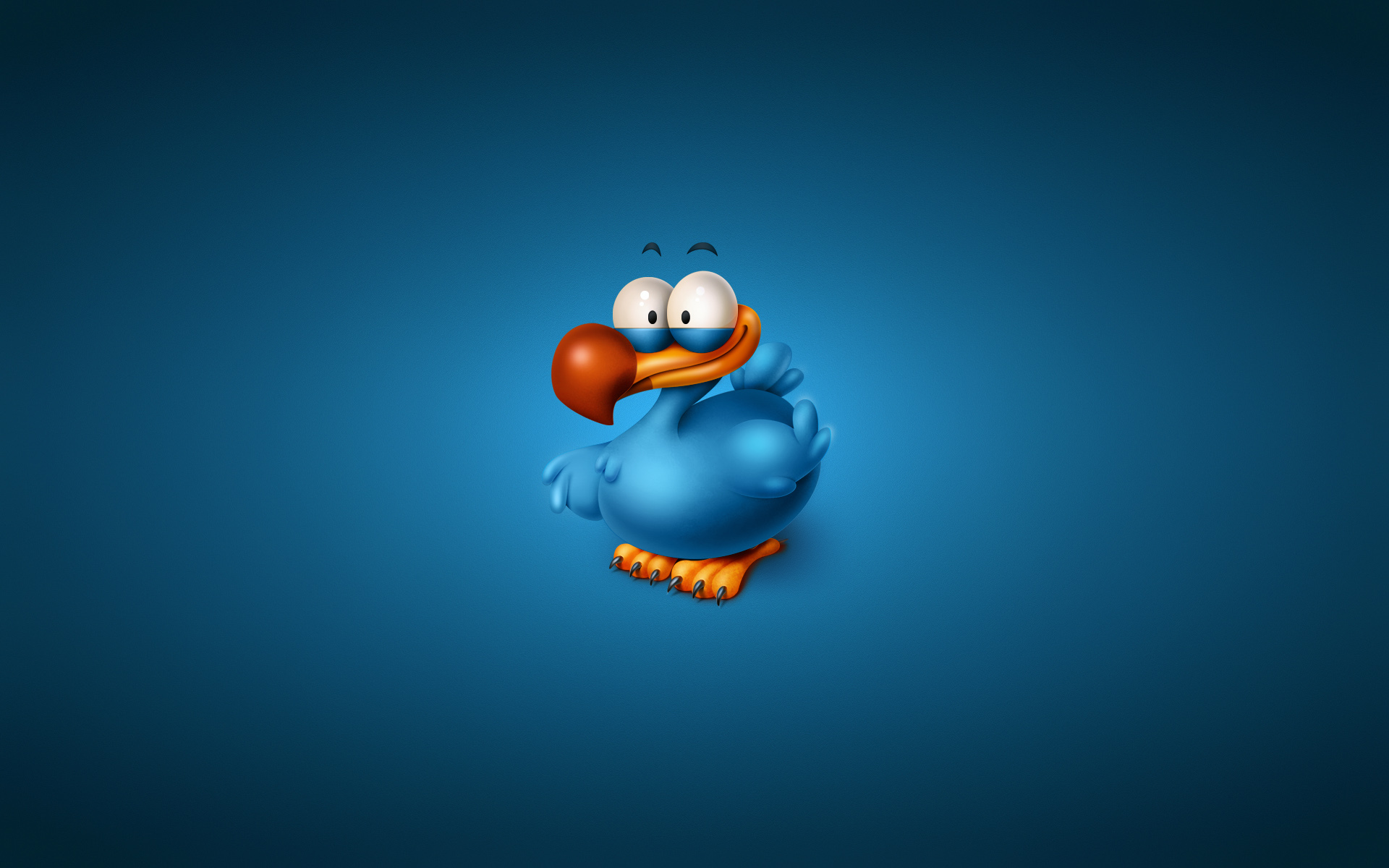 Обои птица, синяя, клюв, глаза