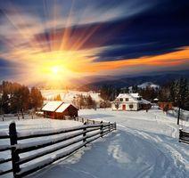 Фото бесплатно пейзаж, холмы, дорожки