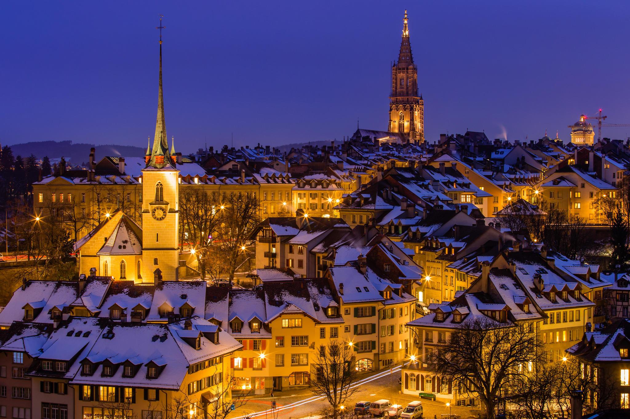 Берн, Швейцария, город