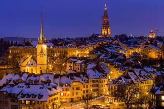 Фото бесплатно Берн, Швейцария, город
