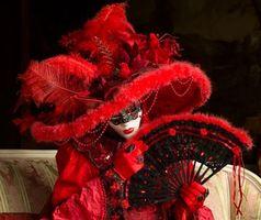 Фото бесплатно Венецианские маски, карнавал венеция, карнавал в венеции