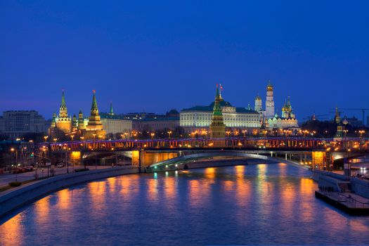 The photo on the phone, the kremlin, moscow