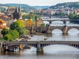 Обои Прага, город, столица Чехии