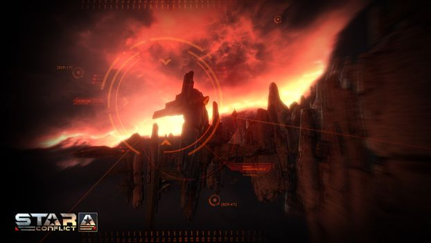 Photo free MMO, space, online game