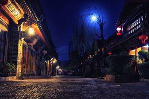 Бесплатные фото Лицзян,Юньнань,Китай,Lijiang,Yunnan,China,ночь