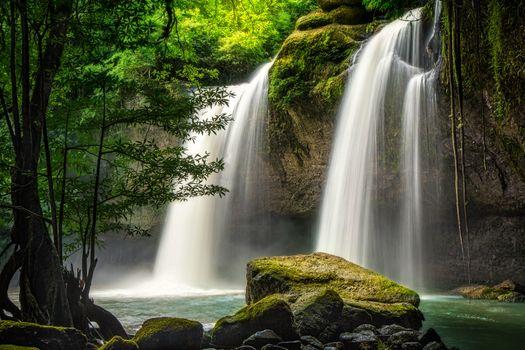 Фото бесплатно Водопад, Кхао Яй национальный парк, Таиланд