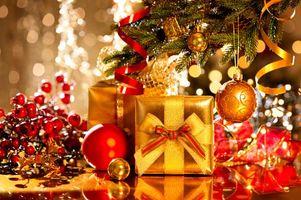 Фото бесплатно Новый год, дизайн, подарки