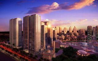 Фото бесплатно небоскребы, большой город, мегаполис