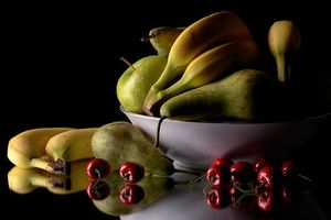 Photo free fruits, apples, bananas