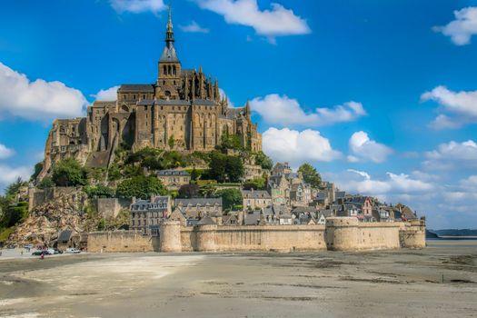 Free mont-saint-michel, mont saint-michel is a beautiful photo