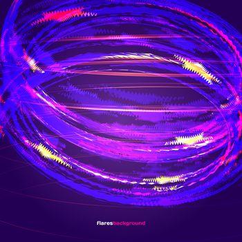 Flare background · free photo