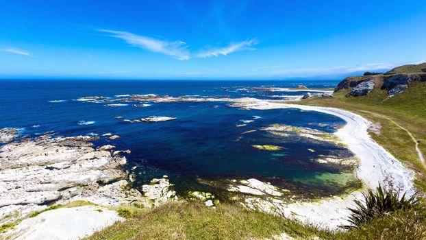 Фото бесплатно берег моря, холмы, скалы
