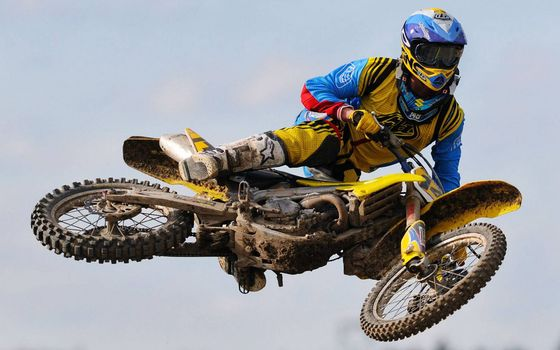 Фото бесплатно мотофристайл, мотоцикл, спортсмен