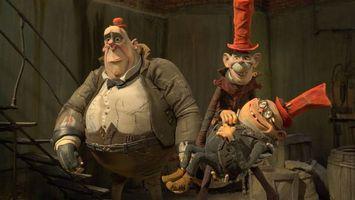 Заставки Семейка монстров,мультфильм,фэнтези,комедия,приключения,семейный