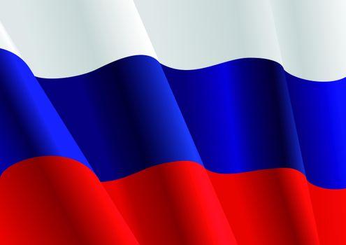 Photo free flag, Russia, Russian Federation
