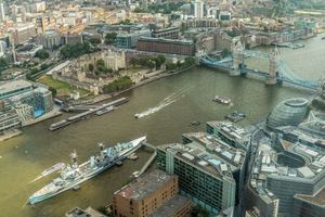 Фото бесплатно Лондон, река Темза, Великобритания
