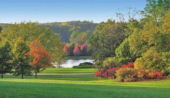 Бесплатные фото осень,река,поле,парк,деревья,дорога,пейзаж