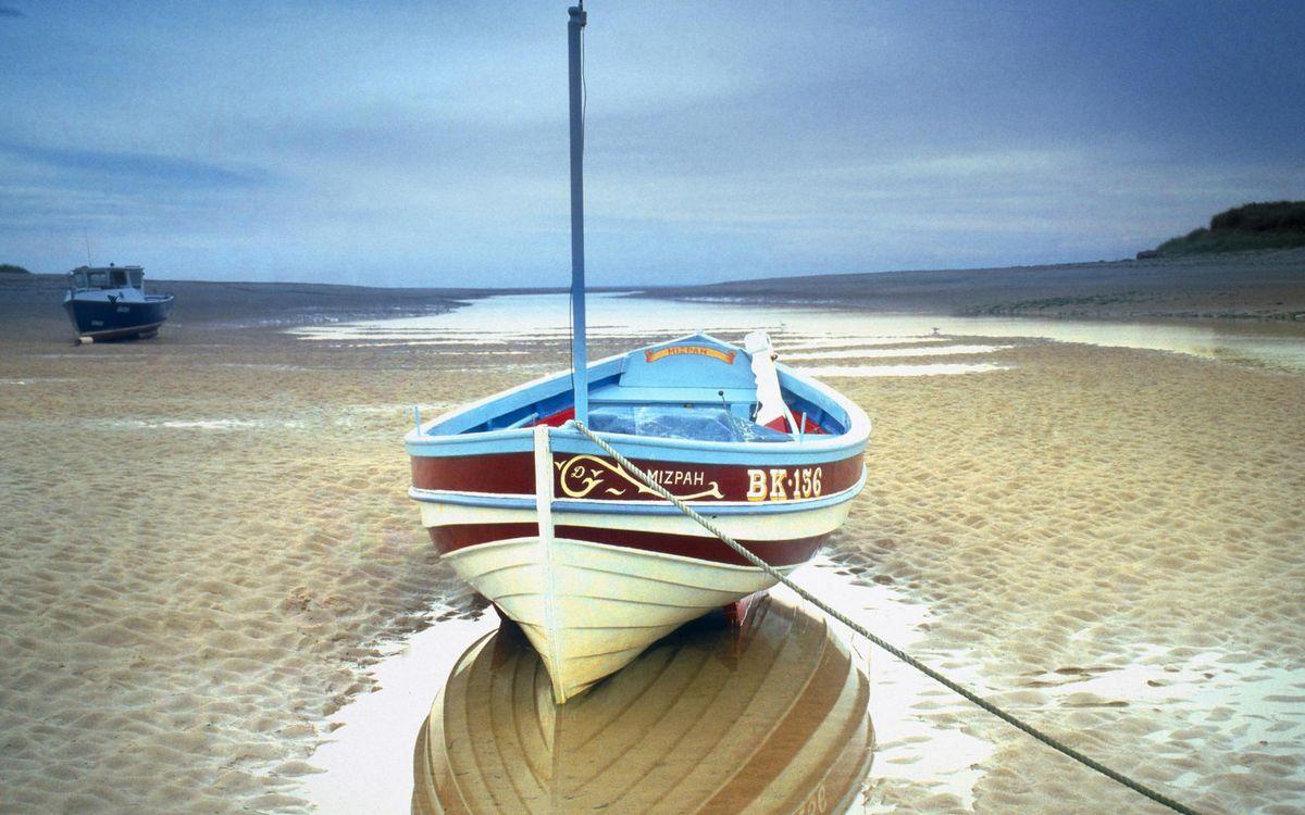 Фото бесплатно берег, песок, лужи - на рабочий стол