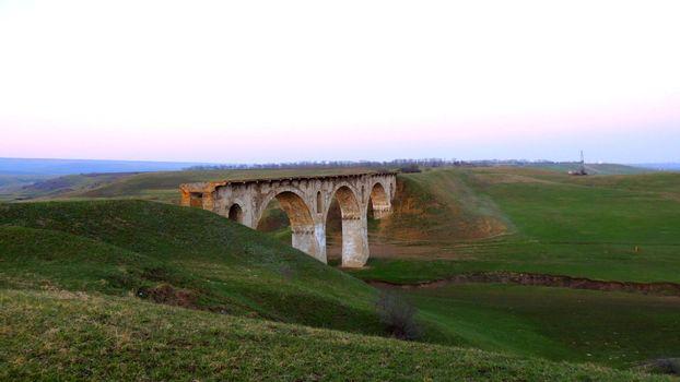 Photo free old, military bridge, Krasnodar Territory