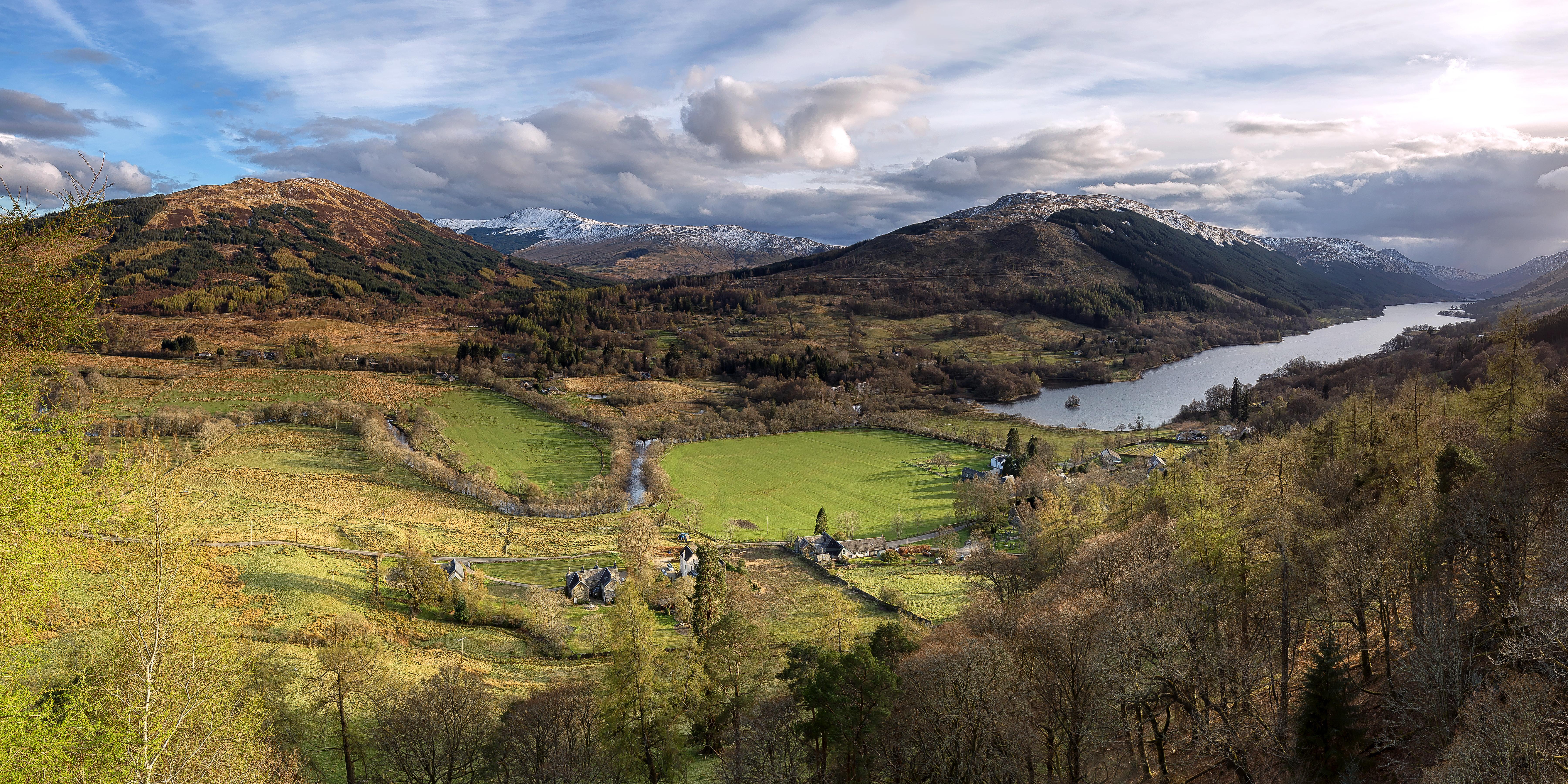 Balquidder in Strathyre, Scotland, Шотландия