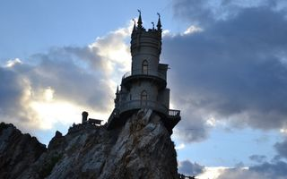 Photo free swallow s nest, Crimea, cliff