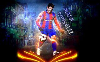 Фото бесплатно футболист, марк гонсалес, мяч