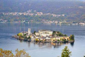 Бесплатные фото Озеро Орта,Италия,Остров Сан Джулио