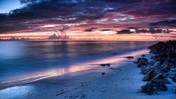 Фото бесплатно облака, небо, песок