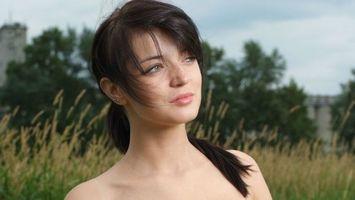 Download wallpaper of model, lin marie belle