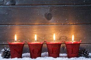Фото бесплатно свечи, элементы, окно