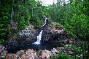 Фото бесплатно Онтарио, лес, водопад