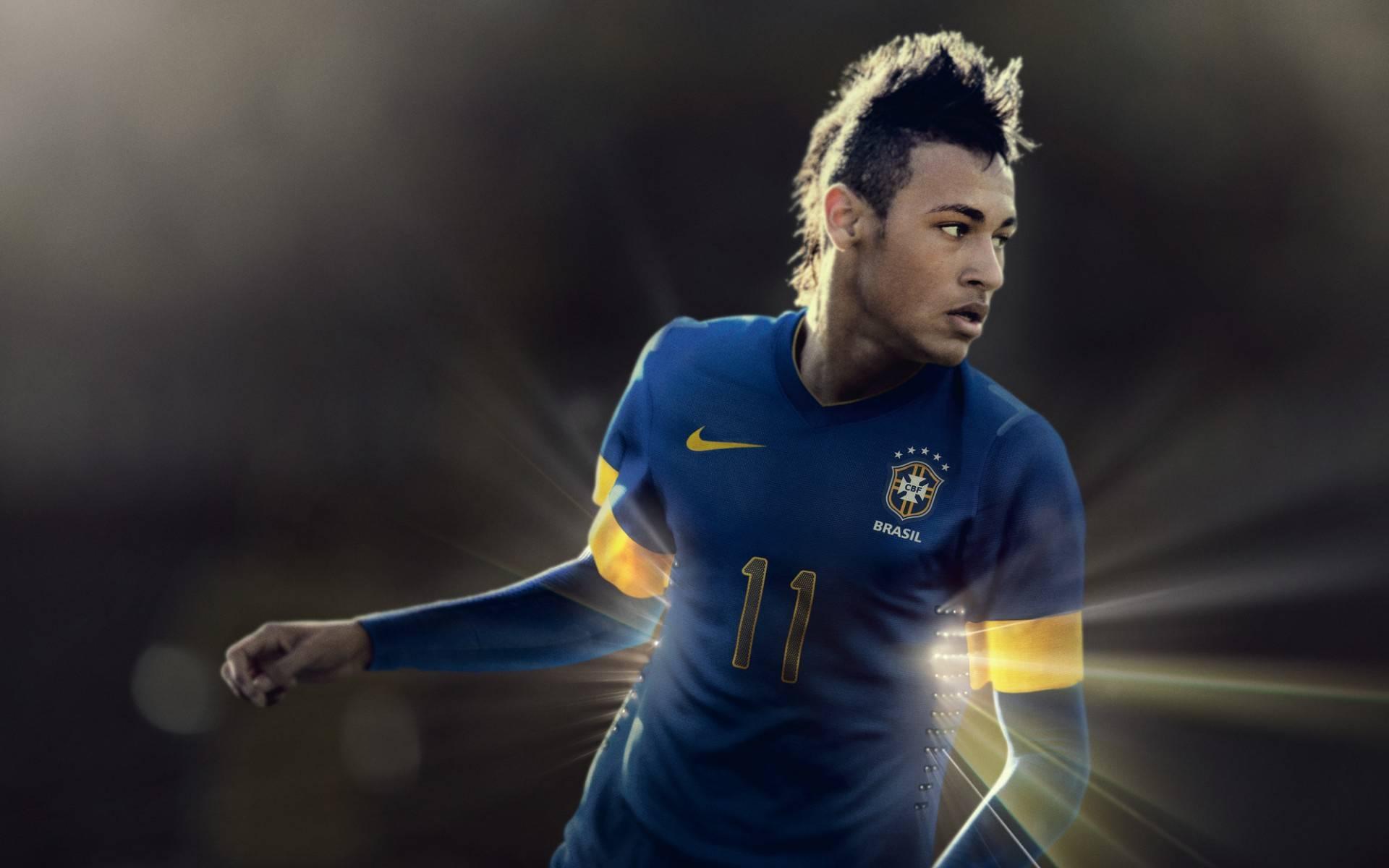 Обои футболист, Неймар, Бразилия, прическа