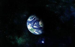 Бесплатные фото планета,земля,звезды,свечение,невесомость,вакуум