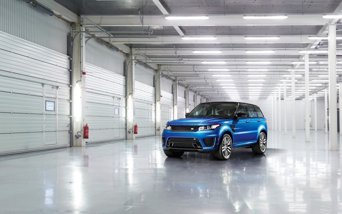 Photos for free Range Rover Evoque, blue, crossover - to the desktop