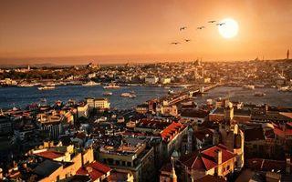 Бесплатные фото дома,здания,крыши,улицы,река,суда,мост
